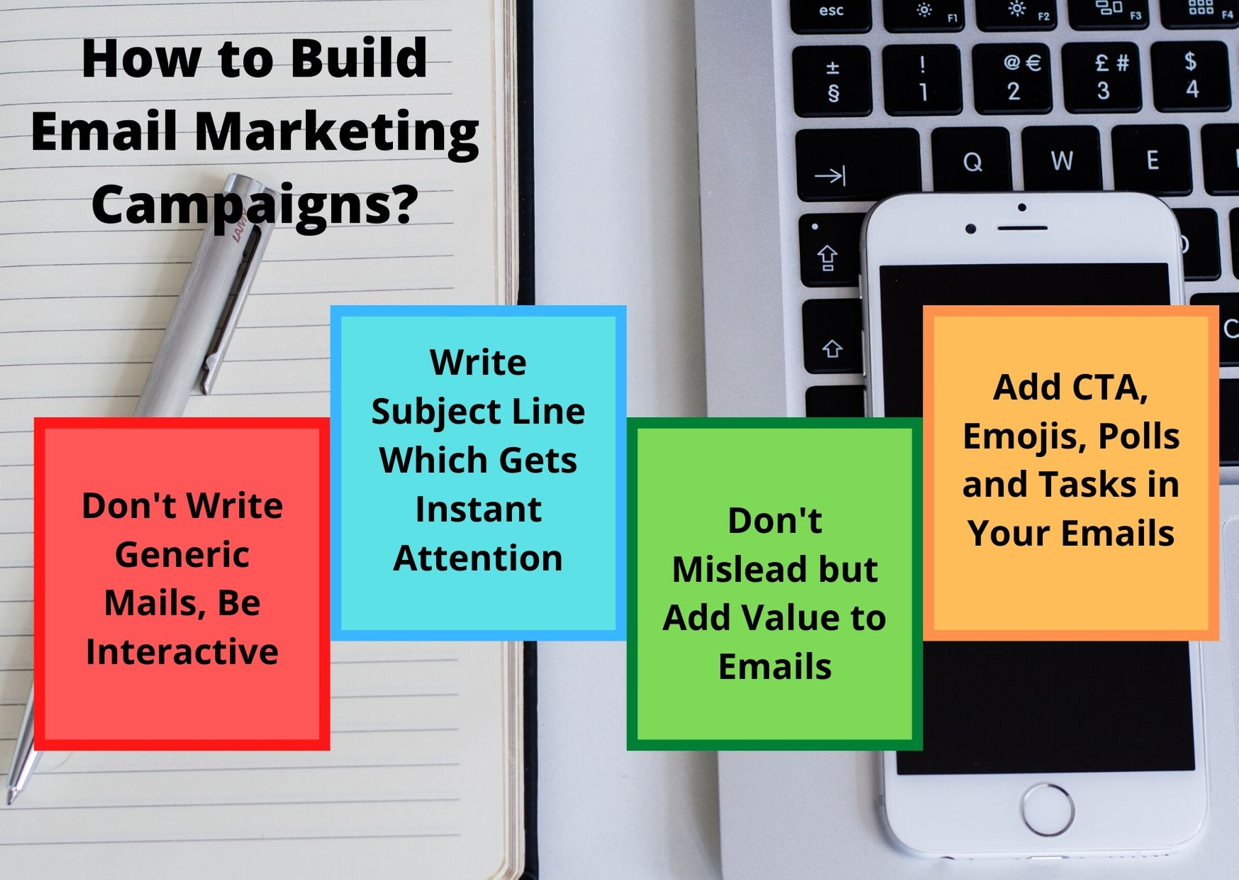 build email marketing campaigns