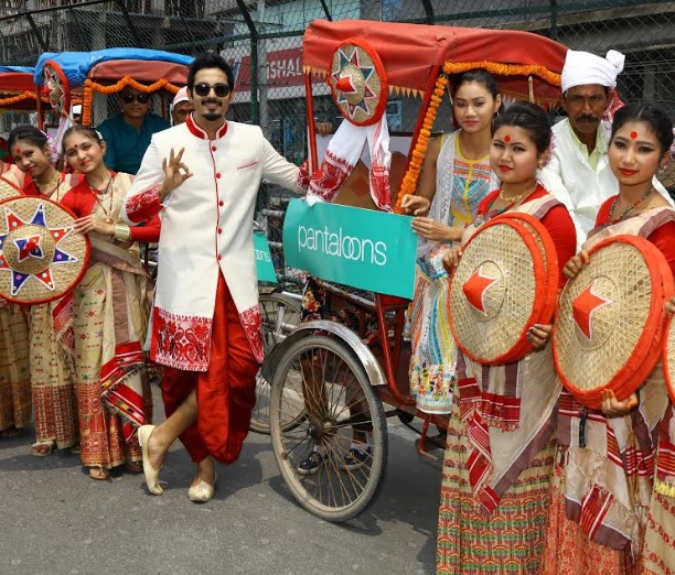 Pantaloons Celebrates its 10th Anniversary in Guwahati with an Enthralling Bihu Xubhojatra