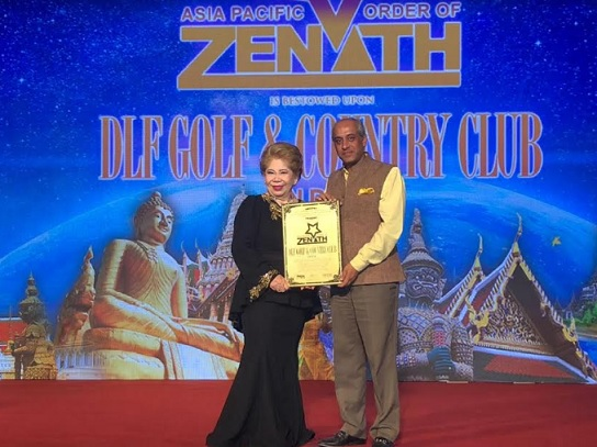 DLF Golf and Country Club Awarded with the Asia Pacific Order of Zenith