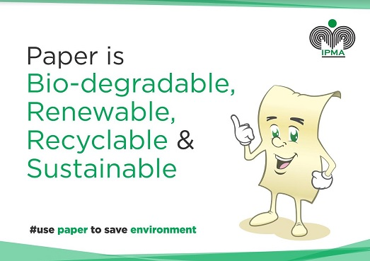 IPMA - Paper is biodegradable