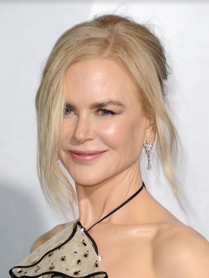 Nicole Kidman wearing Platinum Jewelry from Harry Winston