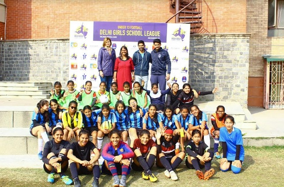 CEQUIN, Football Delhi and Delhi Dynamos football club came together to launch the first ever U13 girls league in Delhi