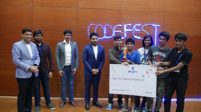 Oakridge International School - Codefest 2019
