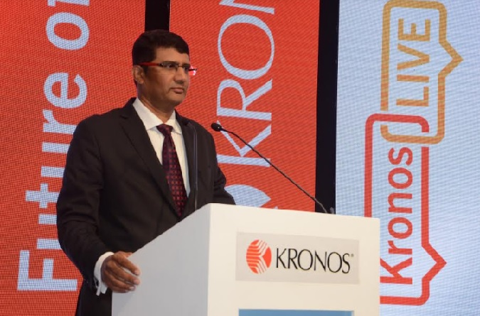 James Thomas, Country Manager, India, Kronos Incorporated at KronosLIVE India 2019