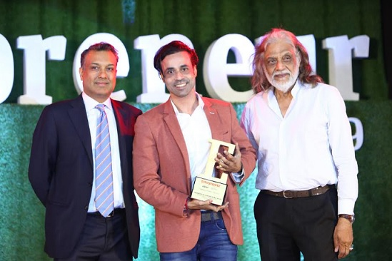Ruhan Rajput Honored with Entrepreneur of the Year Award, 2019