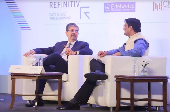 Uday Kotak, MD & CEO, Kotak Mahindra Bank Ltd., in conversation with Navneet Munot, CFA, Chairman, CFA Society India and CIO, SBI Funds Management Pvt. Ltd.