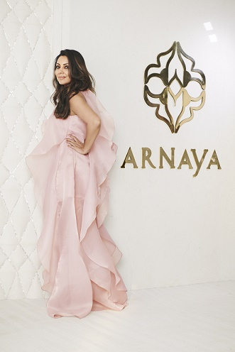 Arnaya collaborates with Gauri Khan