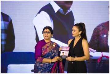 Dr. Sohini Sastri and Preity Zinta at the Book Launch