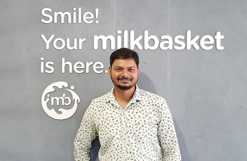 Mr. Nitin Gupta, Head of Engineering at Milkbasket