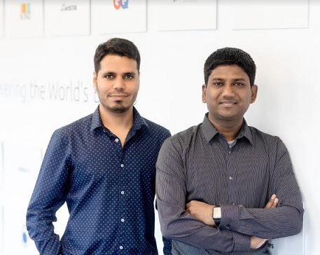 LoginRadius Founders - Rakesh Soni (left) and Deepak Gupta (right)