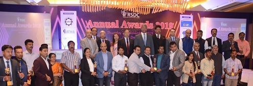 RSDC GC members with awardees