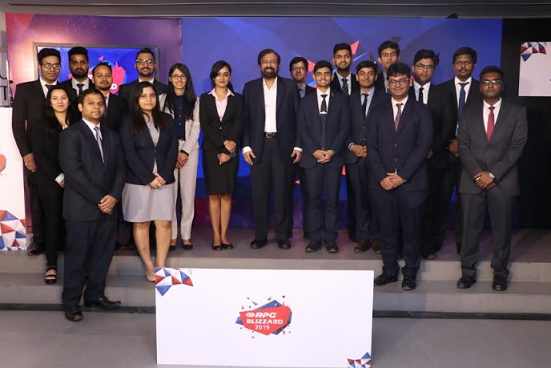 Harsh Goenka, Chairman, RPG Group with RPG Blizzard 2019 participants