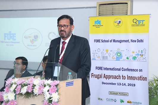 Dr. Jitendra K. Das, FORE International Conference on Frugal Approach to Innovation