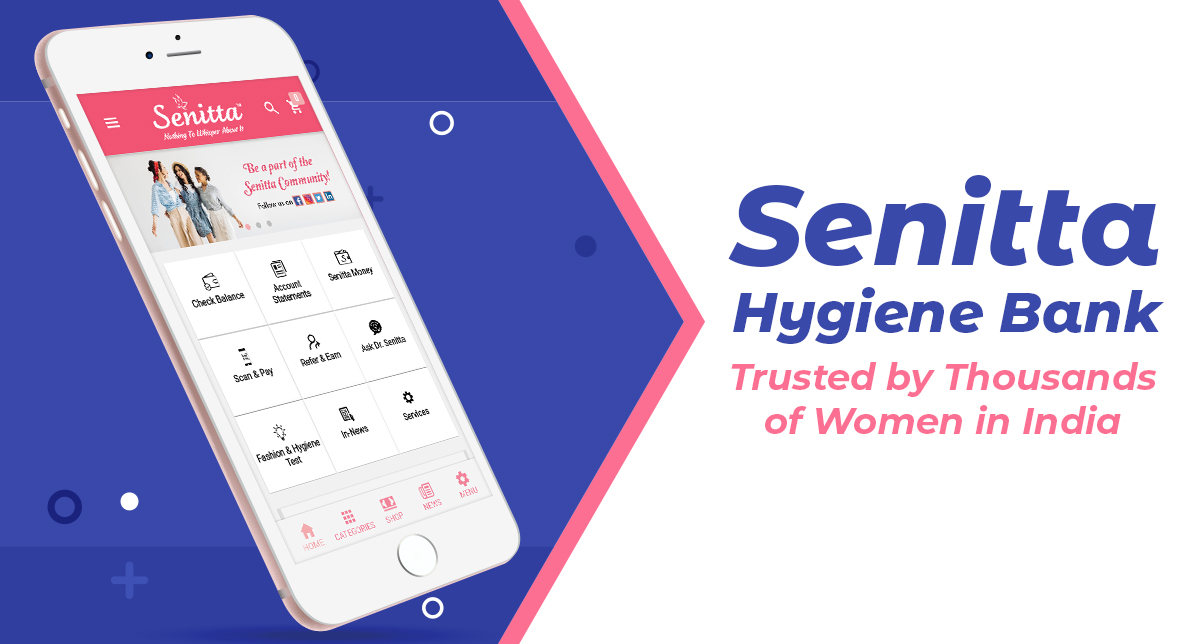 Join Senitta Hygiene Bank today and get year-long supply of Senitta sanitary napkins for free