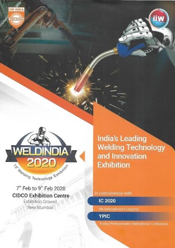 The Indian Institute of Welding (IIW) - Weld India 2020
