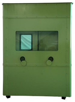TARGE - Bullet Resistance Security Cabins