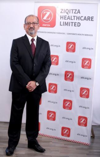 Leading Emergency Medical Services Provider - Ziqitza Healthcare Limited, Announces the Appointment of Mr. Amitabh Jaipuria as MD & CEO