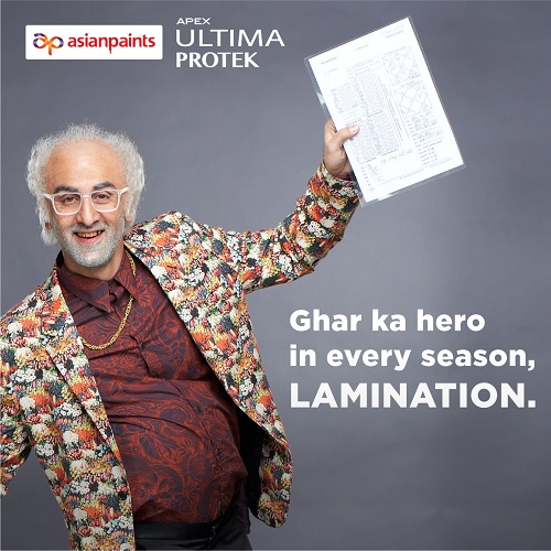 Asian Paints Brings you Lamination Wala Ultima Protek in its Latest TVC
