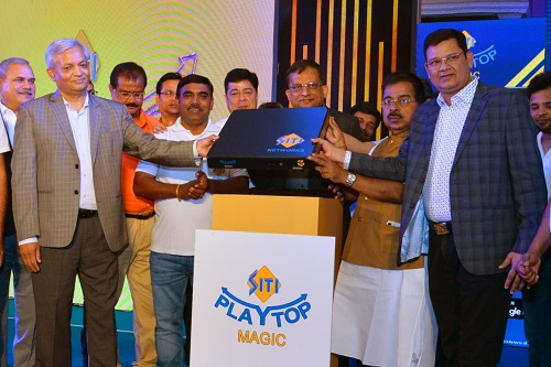 SITI Networks Launches Next-generation Set Top Box SITI Playtop Magic in India