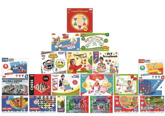 """It's Summer Holidays - Stay Safe & Play Safe with Funskool's """"Roll Out"""" of a Diverse Range of New Product Offerings"""