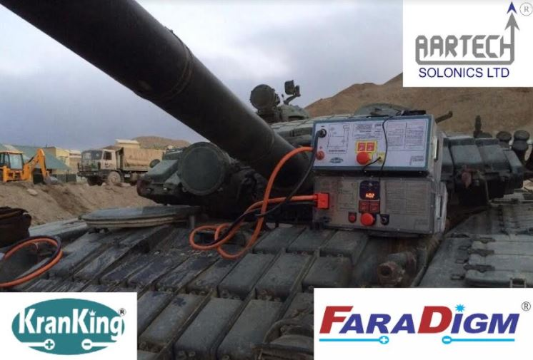 Aartech Bags Supply Order to Deliver Ultracapacitor based Systems to Indian Army