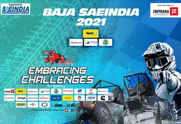 Mahindra BAJA SAEINDIA 2021 Successfully Concludes Leg 2 of its 14th Edition at Chitkara University Punjab