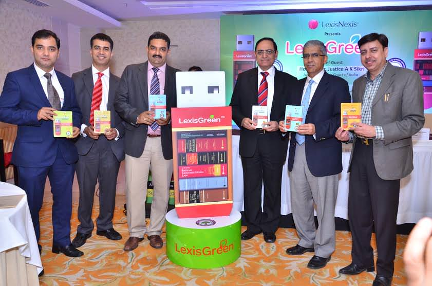 Justice Badar Durrez Ahmed unveils LexisGreen™ - Law Books and Bare Acts on a Pen drive