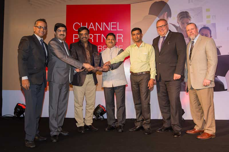 APAC Channel Parther of the year  2015 - SPA Instruments India
