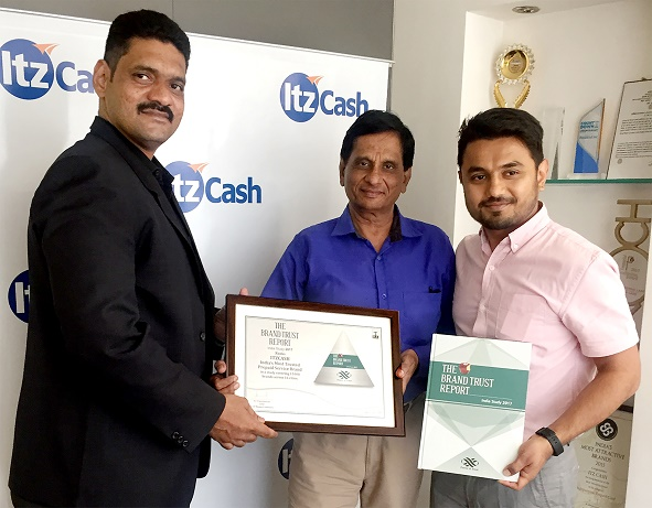 ItzCash Voted Amongst the most Trusted BFSI Brand in India
