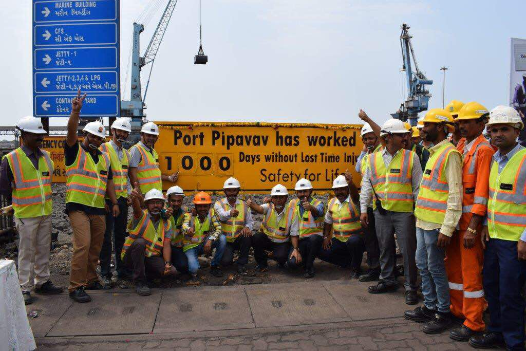 1000 Days Safe Environment at Pipavav