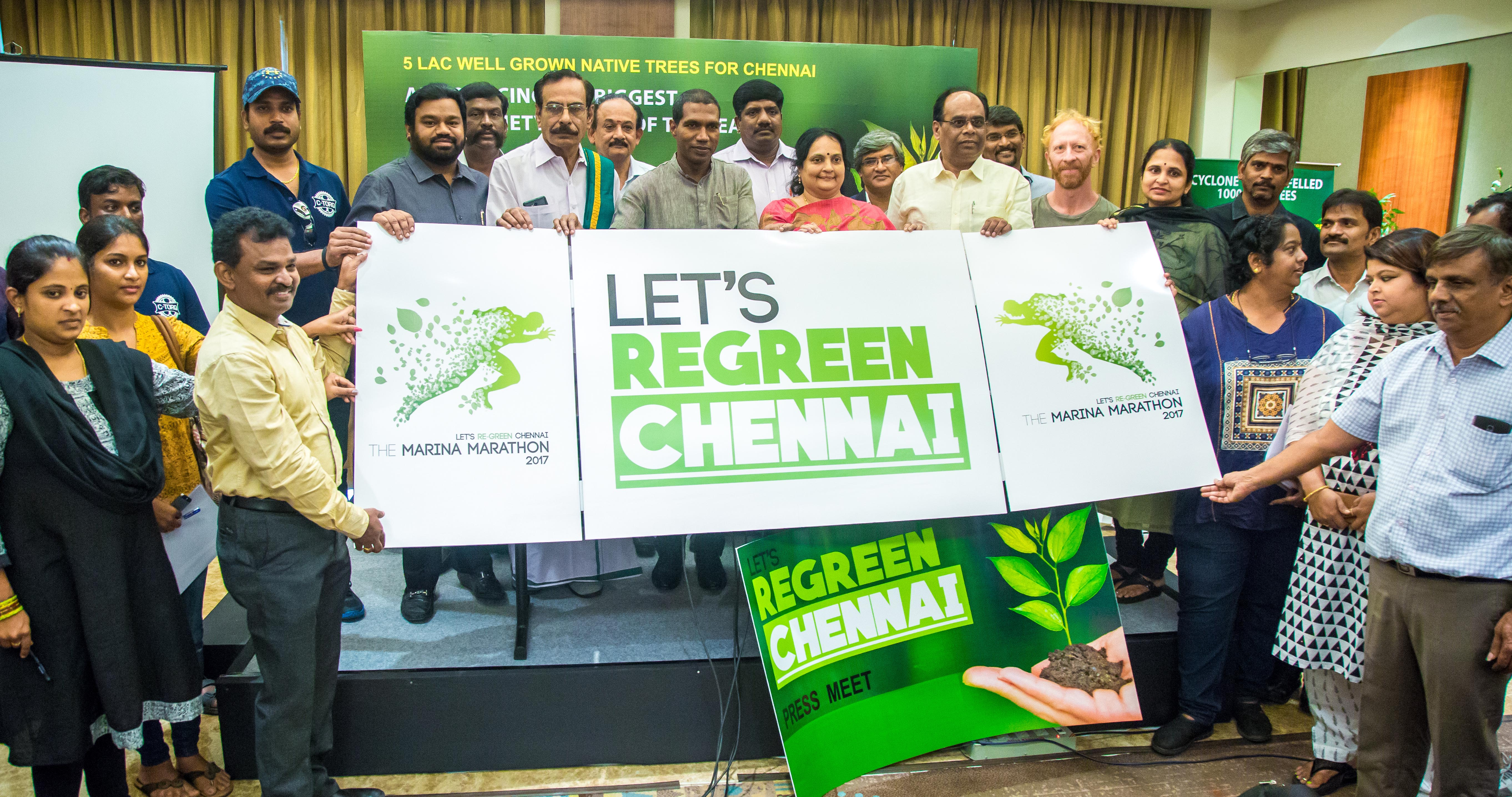 THE REGREEN CHENNAI - A Movement for Reviving Green Cover of the City Inaugurated Today