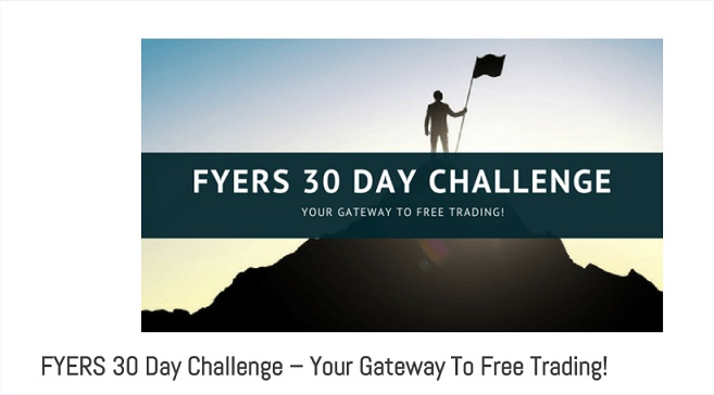 FYERS 30 day challenge