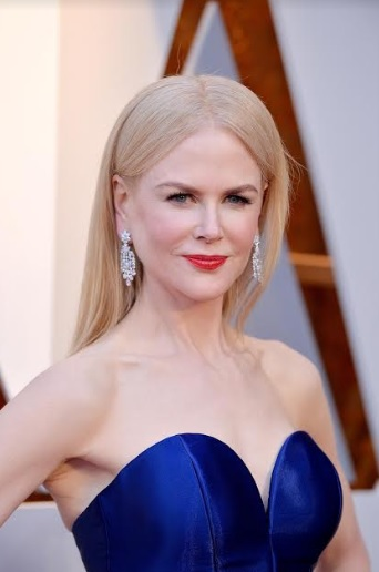 Statement Earrings Set in Platinum are Top Accessory at the 90th Annual Academy Awards