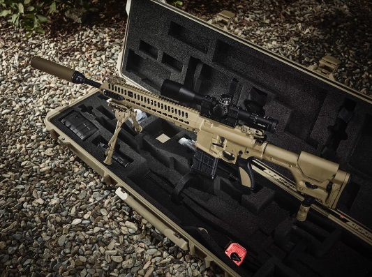 Advanced Gas Piston Based Assault Rifles to be Made in India by MKU with EDIC Caracal, UAE