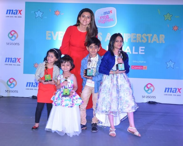 Pune winners with actress Ridhi Dogra