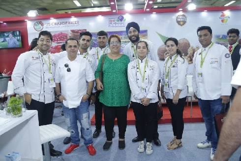 Participants at Culinary and Mixology Competition Organised by U.S. Premium Agricultural Products