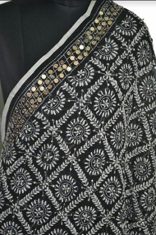 Sample of Indian traditional embroidery by artisans