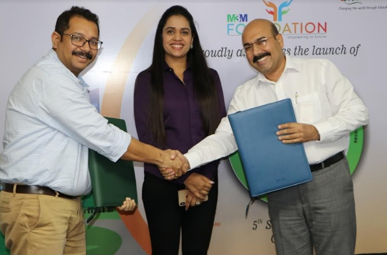 Dr. Aishwarya Mahajan, Director, Aide et Action, Dr. Payal Kanodia, Trustee M3M Foundation and Mohit Chadha, Managing Trustee, M3M Foundation