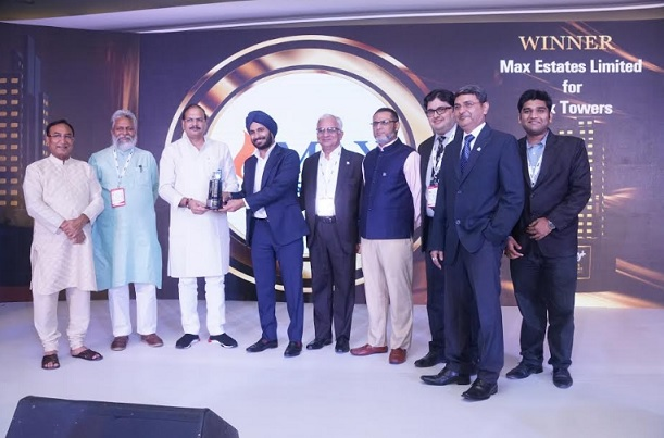Max Estates wins Realty+ Awards for Max Towers and 222 Rajpur