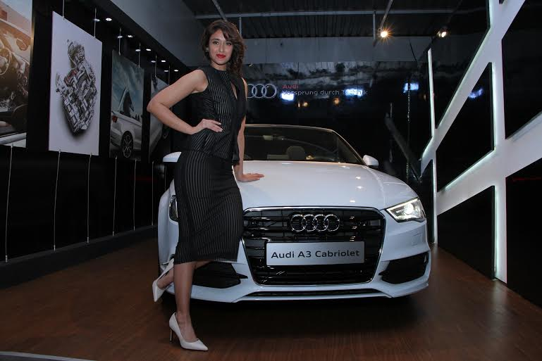 Bollywood actress Ileana D' Çruz at inauguration of Audi Thane showroom, Maharashtra
