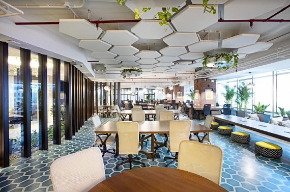 Indias First Premium Wellness Oriented Co-working Space