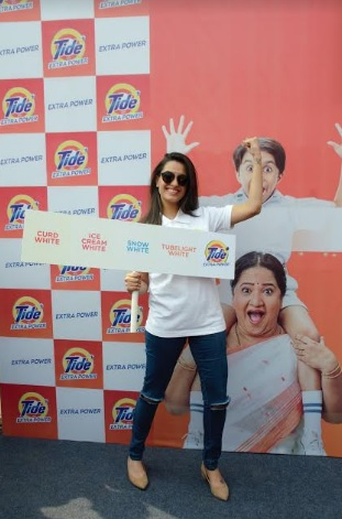 New Tide Plus with Extra Power Launched in India by Actresses Shraddha Arya, Anita Hassanandani and Sai Tamhankar