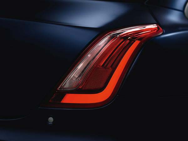 Model Year 16 New Jaguar XJ Rear Side Indicator Light